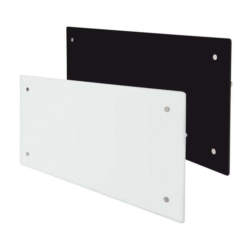 Grzejnik Elektryczny Adax Clea Wifi 1000w 850x340x88mm Wiszący Ze Szklanym Panelem Przednim